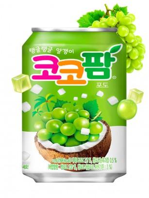 Bebida Coreana de Uva y Toppings de Coco | Coca Cola 238 ml