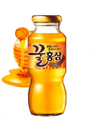 Bebida de Coreana de Ginseng Rojo con Miel 180 ml