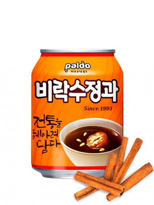Bebida Coreana de Ponche Dulce de Canela y Jengibre