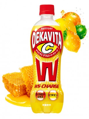 Refresco Enriquecido Dekavita C Double Super Charge | 500 ml.