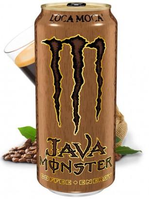 Bebida Energética con Café Monster Java Loca Moca | USA 443 ml.