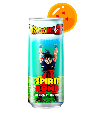 Bebida Energética Dragon Ball Z Spirit Bomb 355 ml