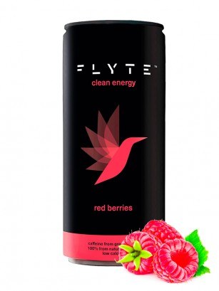 "Bebida Energética ""Limpia"" FLYTE Red Berries | 250 ml."