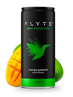 Bebida Energética FLYTE Mango Passion | 250 ml.