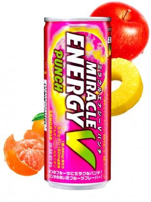Bebida Energética Miracle V | Ponche de Frutas 250 ml