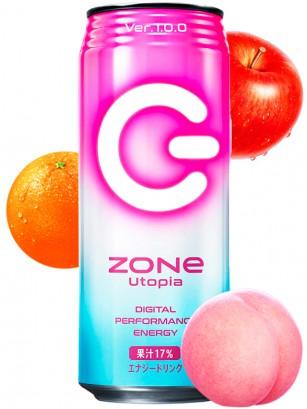 Bebida energética Japonesa ZONe Utopia 500 ml.