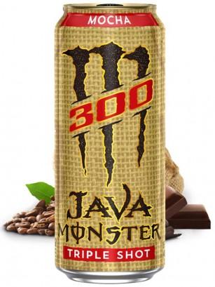 Bebida Energética Monster Café Java Moca Triple Shot | USA 443 ml.
