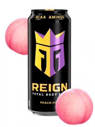 Bebida Energética Reign Peach Fizz | USA 473 ml.