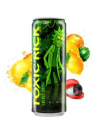 Bebida Energética Rick & Morty Toxic Rick 355 ml
