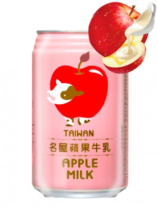 Bebida Apple & Milk 340 ml