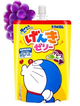 Gelatina Jelly para Beber Sabor a Uva | Doraemon 120 grs
