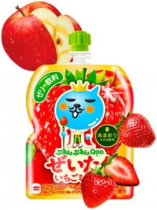 Jelly Drink de Manzana y Fresas Japonesas | Qoo 125 grs.