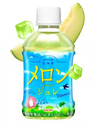 Bebida Jelly de Melón de Hokkaido | Agita 10 veces | 275 ml