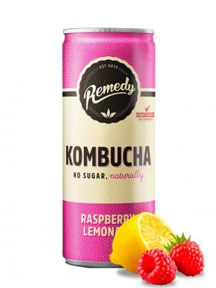Limonada de Kombucha y Frambuesa | Sin Azúcar 250 ml.