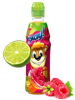 Bebida Zumo de Frambuesa y Lima 400 ml | T Play
