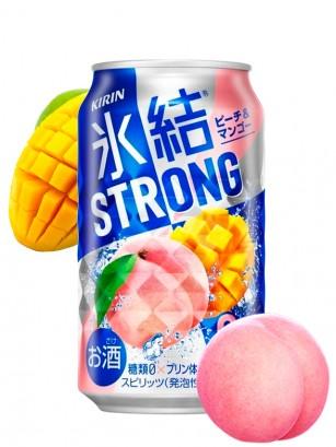 Bebida Licor Melocotón y Mango | Strong Freeze 350 ml.