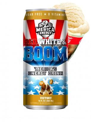 Bebida Energética Red, White & Boom | Victory | Sabor Cola con Helado 480 ml