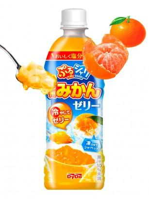 Bebida de Naranja Japonesa Mikan con Gelatina | Puru Puru 490 ml