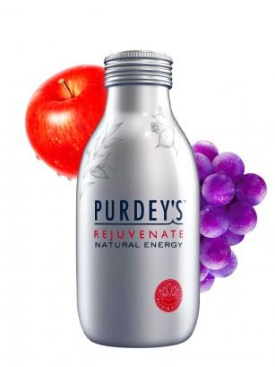 Bebida Natural Energética de Uva y Manzana con Ginseng | 330ml
