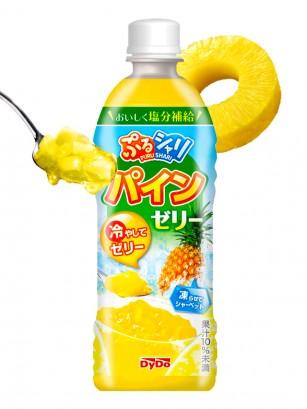 Bebida de Piña con Gelatina | Puru Puru 490 ml