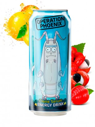 Bebida Energética Rick & Morty Operation Phoenix 355 ml