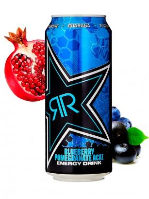 Bebida Energética Rockstar de Arándanos y Granada | XDurance 500 ml