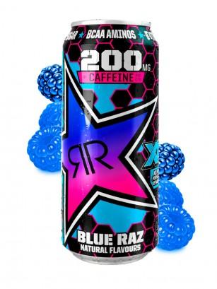 Bebida Energética Rockstar XD Power Frambuesa | Blue Raz 500 ml.
