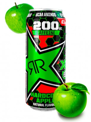 Bebida Energética Rockstar XD Power Manzana | Hardcore Apple 500 ml.