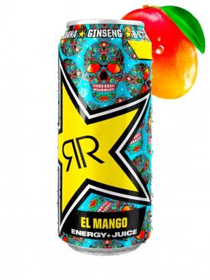Bebida Energética Rockstar de Mango | El Mango 500 ml