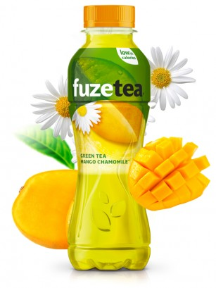 Zumo de Mango con Camomila y Té Verde 400 ml