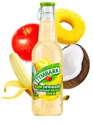 Bebida de Manzana, Piña, Coco y Plátano 250 ml
