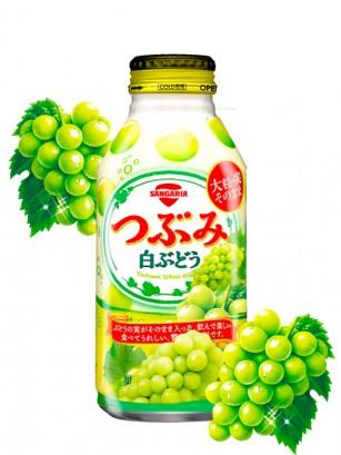 Bebida de Zumo de Uva Blanca Tsubumi 380 grs. | Botella de Aluminio