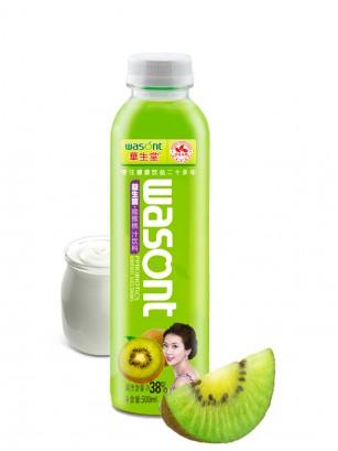 Bebida Probiótica de Kiwi y Leche 500ml.