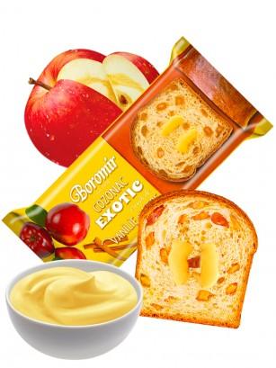 Bizcocho de Crema de Vainilla y Trocitos de Manzana 400 grs