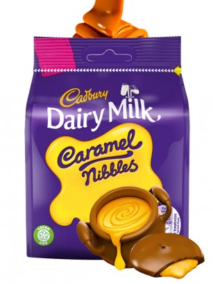 Bocaditos de Chocolate Cadbury Rellenos de Caramelo 95 grs.