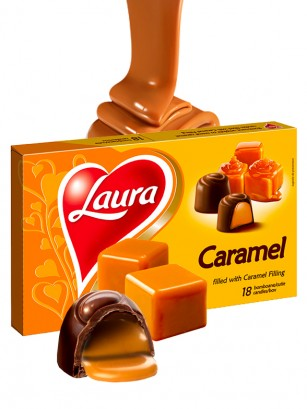 Bombones de Chocolate y Crema de Caramelo Fundido 140 grs.