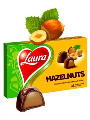 Bombones de Chocolate y Crema de Avellana 18 Unidades