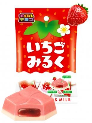 Chocolatinas Choco Ichigo Milk | 44 grs