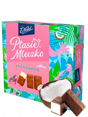 Bombones de Chocolate y relleno de Marshmallow sabor Coco 360 grs.