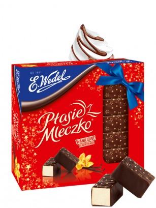 Bombones de Chocolate Negro y relleno de Marshmallow Vainilla 380 grs