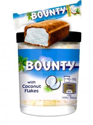 Crema estilo Nutella de Bounty con Trocitos de Coco 200 grs