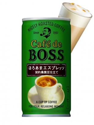 Café Espresso con Leche Boss | Suntory 185 grs.