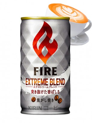 Café con Leche Intenso | Kirin Fire Silver Can 185 grs.