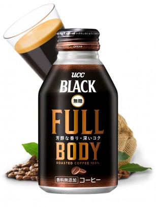 Café Japonés Black Full Body Sin Azúcar 275 ml.