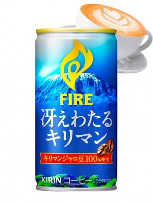 Café Kilimanjaro con Leche | Kirin Fire Gold Can 185 grs.