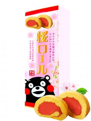 Cake Rolls de Sakura | Kumamon 160 grs. | Pedido GRATIS!