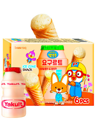 Snacks Coreanos Ice Cream Yogur Yakault  | Pororo 54 grs.