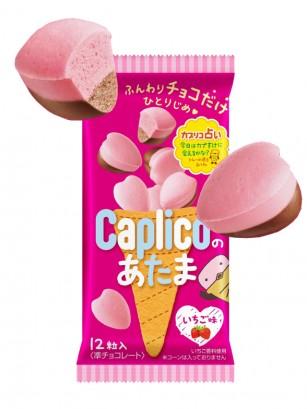 Corazones Mousse de Fresa y Chocolate Caplico 12 bombones | 30 grs