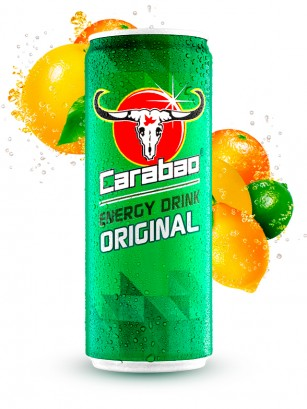 Bebida Energetica Carabao Original 330 ml