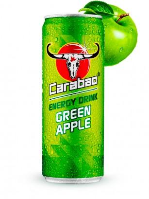 Bebida Energetica Carabao Manzana Verde 330 ml